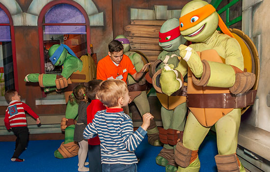 Ninja Turtles at Nickelodeon Adventure Murcia